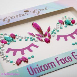 Unicorn Face Gems
