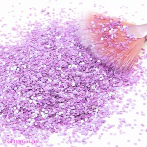 Lilac Love Glitter
