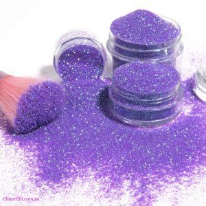 Purple Tail Glitter