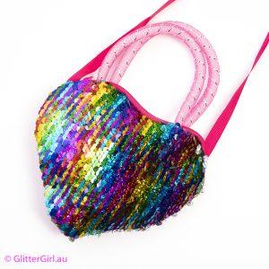 Sequin Bag Rainbow