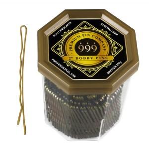 999 2 Bobby Pins Bronze