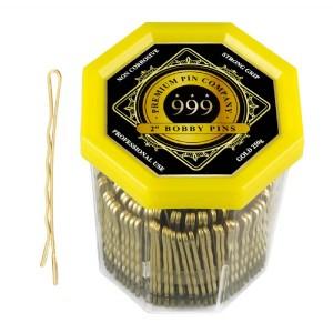 999 Gold 2 Bobby Pins