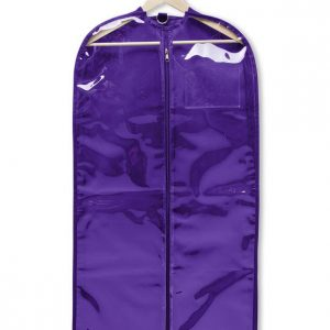 Capezio Clear Garment Bag Electric Purple