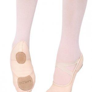 Capezio Hanami Leather Ballet Shoe Light Pink
