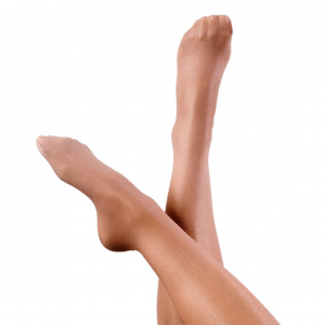 Footed Gloss Tights Skintone