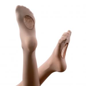Fiesta Children's Micro-Basics Silky Smooth Dance Tights - Skintone